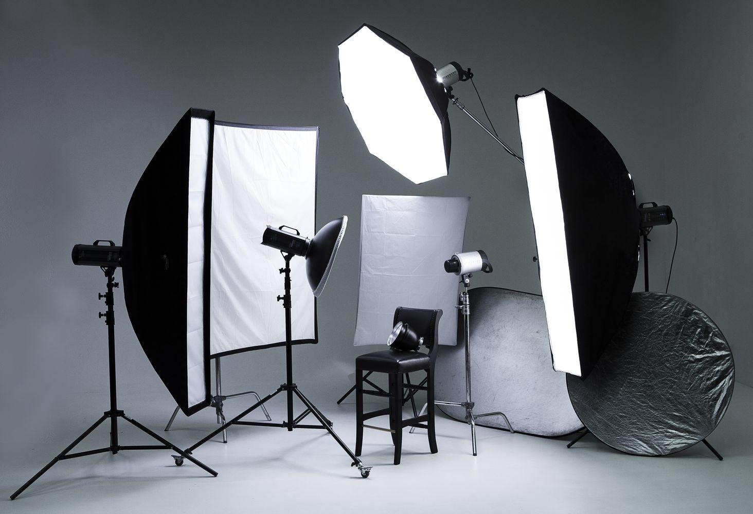 свет для студийной фотосъемки мне